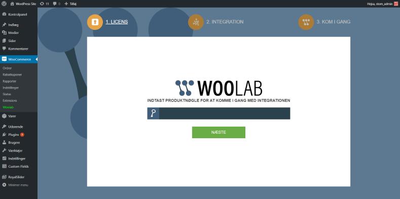 Woolab Installationsguide